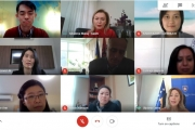 Virtual Meeting on Opportunity for Academic Collaboration with University of Prishtines via Google Meeting