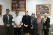 Delegation of Universiti Utara Malaysia visited NIDA